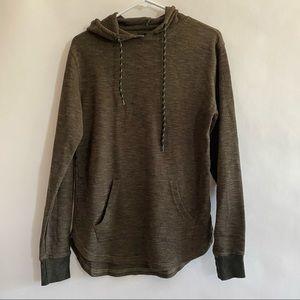 Men's RSQ heather olive green hoodie size Medium